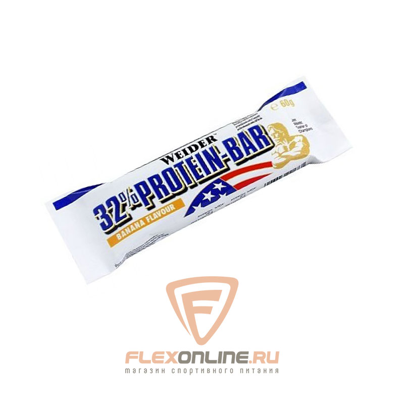 Шоколадки 32% Protein Bar от Weider
