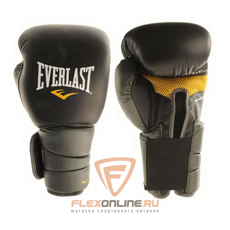 Боксерские перчатки Перчатки боксерские тренировочные Protex3GV 16 унций L/XL от Everlast