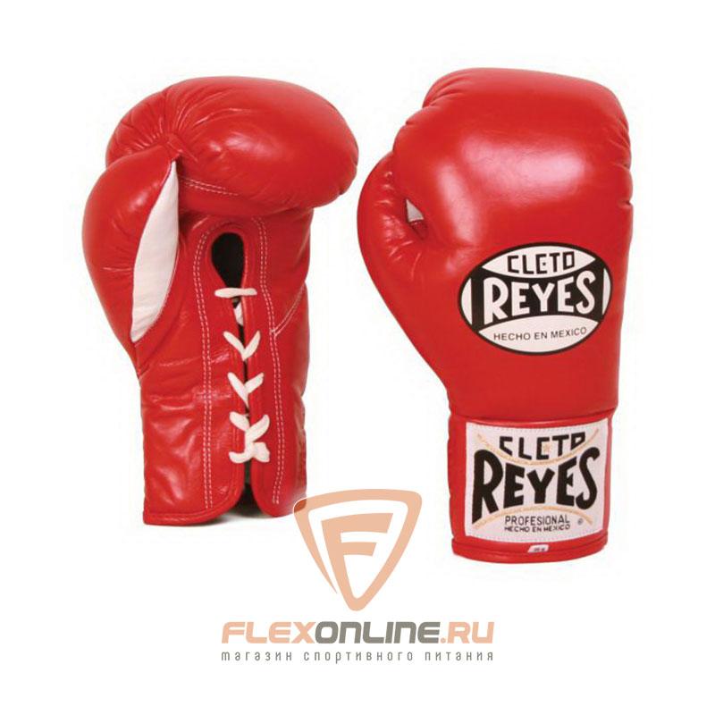 Боксерские перчатки Перчатки боксерские на шнурках 8 унций красные от Cleto Reyes