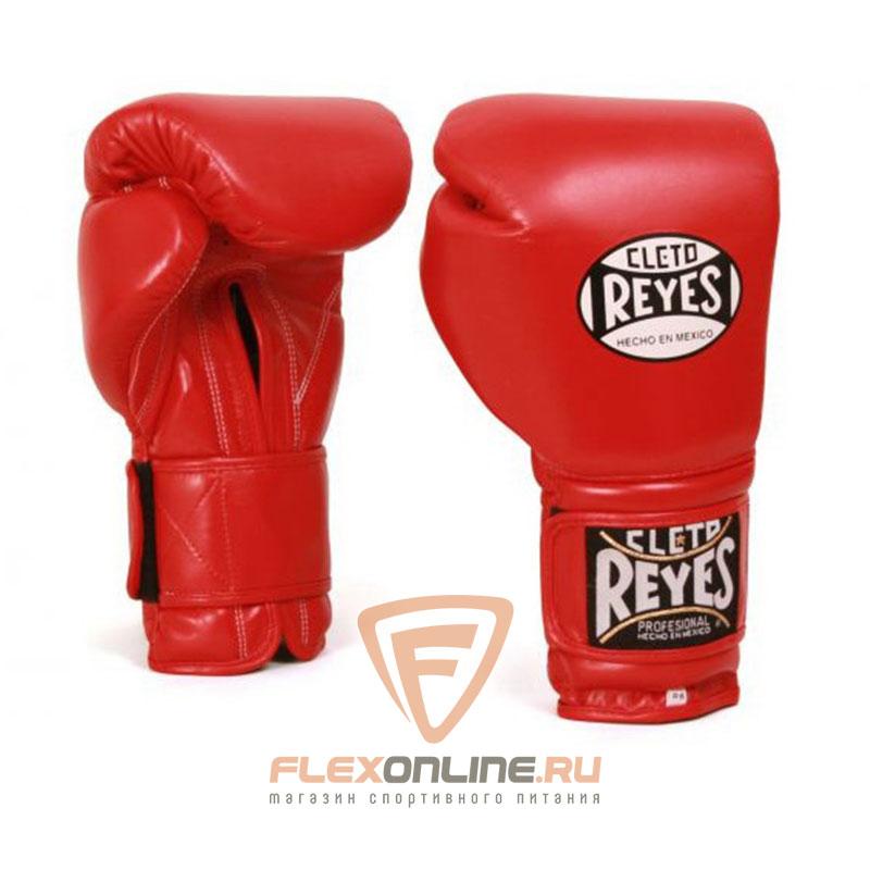 Боксерские перчатки Перчатки боксерские тренировочные на липучке 16 унций красные от Cleto Reyes