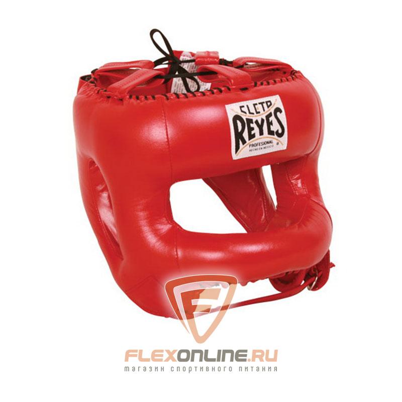 Шлемы Шлем боксерский закрытый для тренировок красный от Cleto Reyes