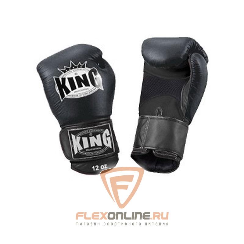 King Перчатки боксерские тренировочные, липучка 8 унций