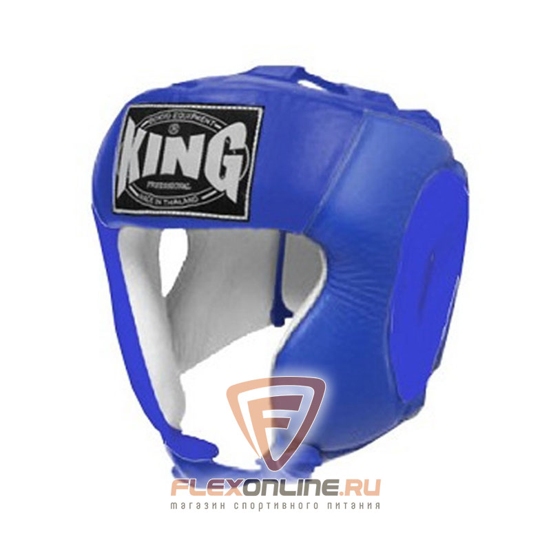 Шлемы Шлем тренировочный S синий от King