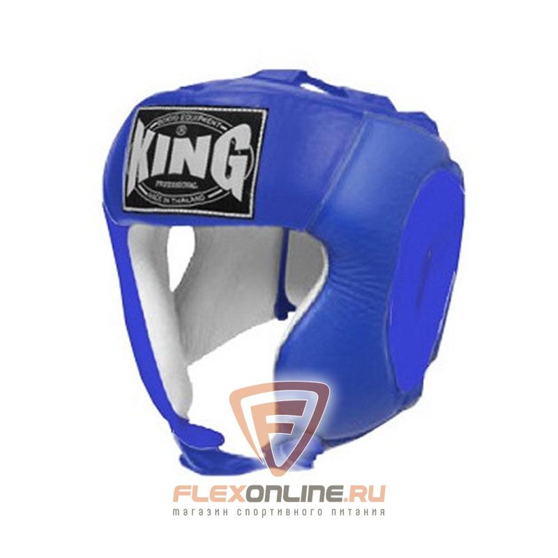 Шлемы Шлем тренировочный M синий от King