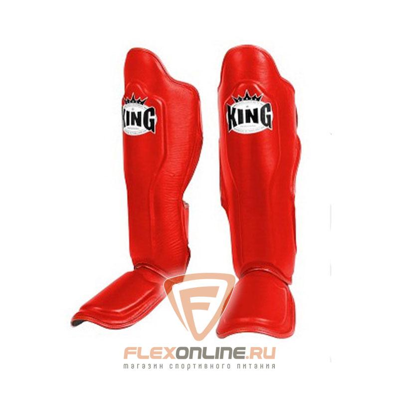 Защита тела Защита голени L красная от King