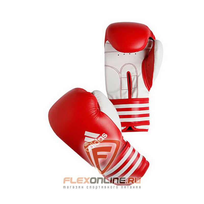 Боксерские перчатки Перчатки боксерские Ultima 12 унций красно-белые от Adidas