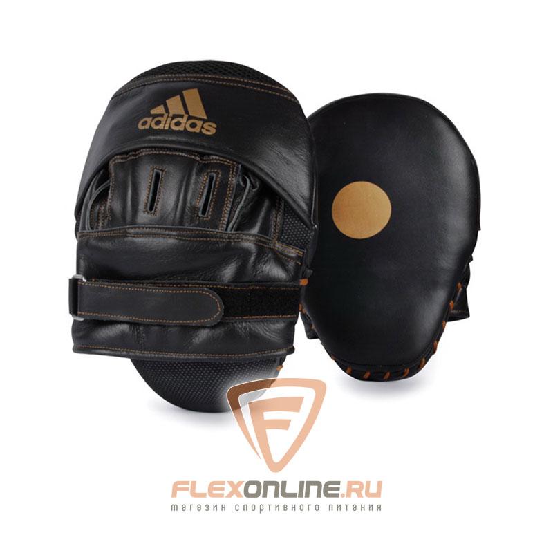 Лапы и макивары Боксерские лапы изогнутые от Adidas