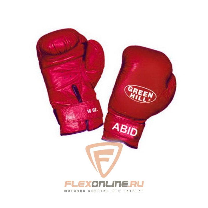 Боксерские перчатки Перчатки боксерские ABID 8 унций красные от Green Hill