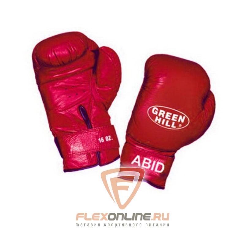 Боксерские перчатки Перчатки боксерские ABID 10 унций красные от Green Hill