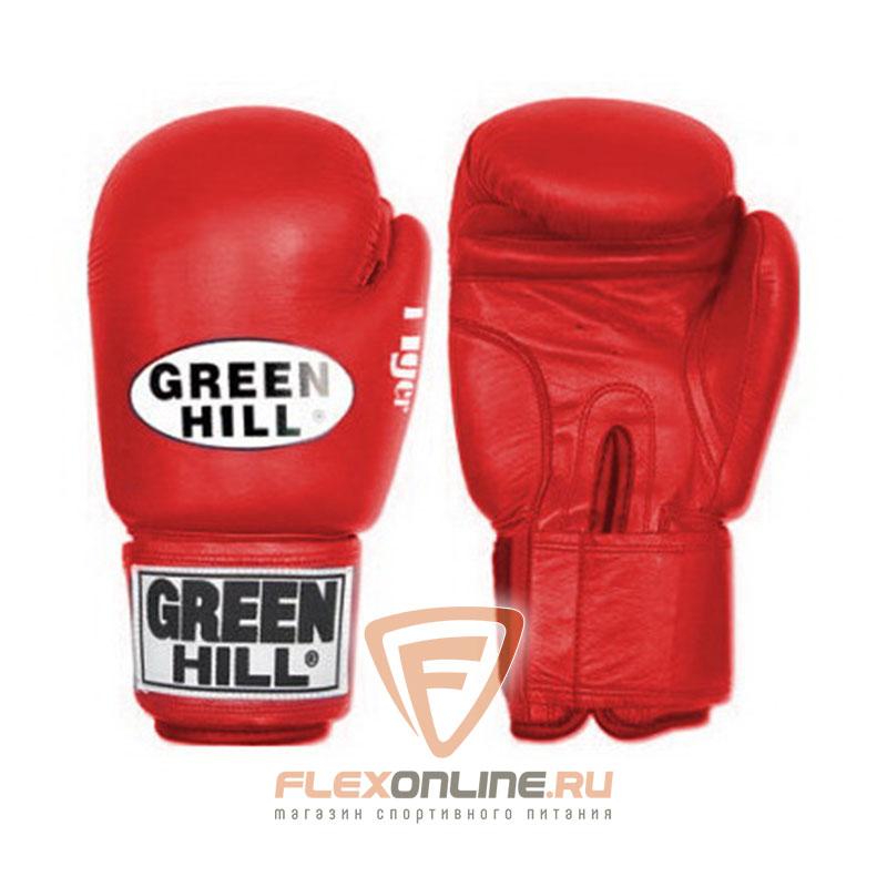 Боксерские перчатки Перчатки боксерские TIGER 10 унций красные от Green Hill