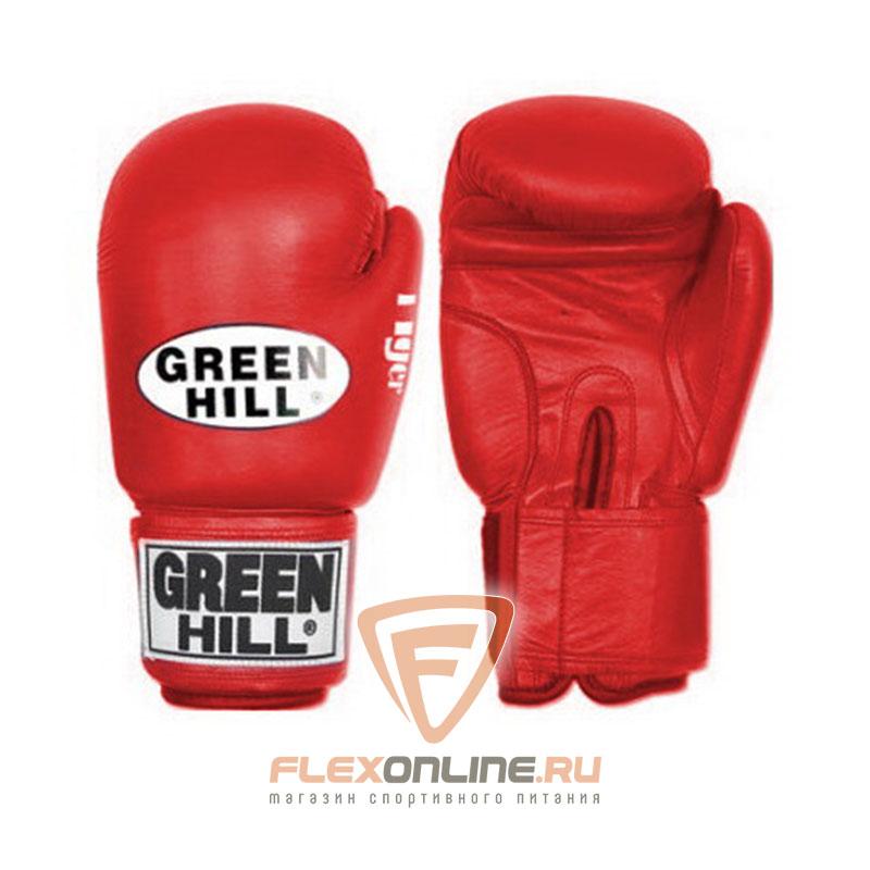 Боксерские перчатки Перчатки боксерские TIGER 16 унций красные от Green Hill