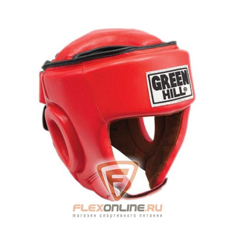 Шлемы Шлем боксерский BEST соревновательный красный от Green Hill