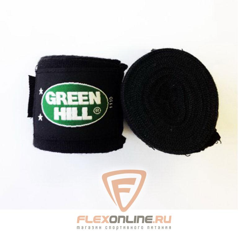 Бинты Бинт боксерский 3,5 метра чёрный от Green Hill