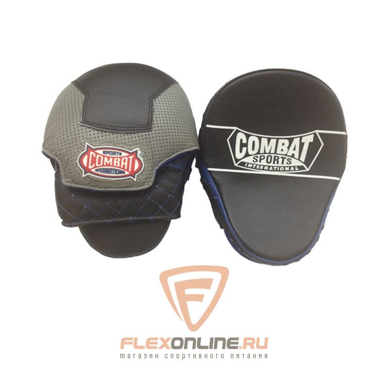 Лапы и макивары Боксерские лапы изогнутые от Combat Sports