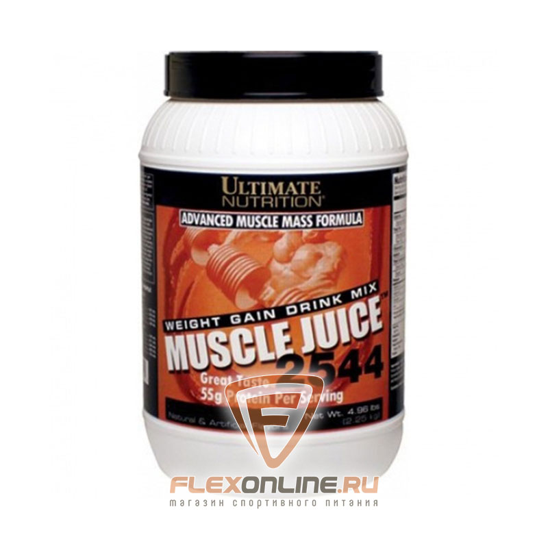Гейнер Muscle Juice 2544 от Ultimate Nutrition