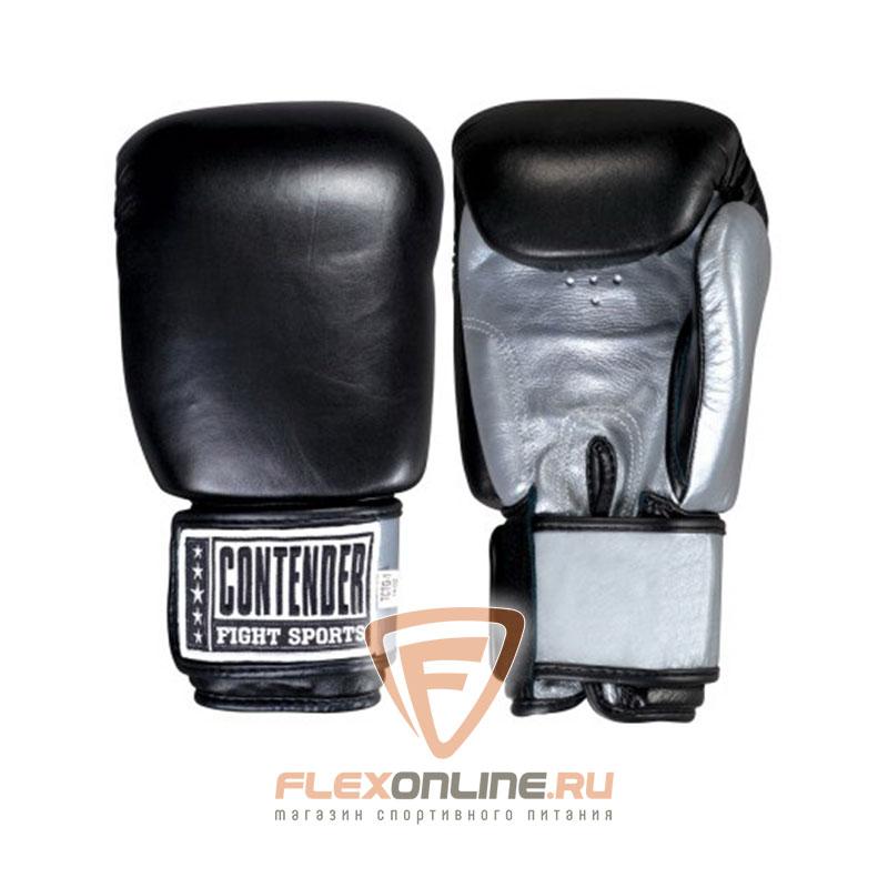 Боксерские перчатки Перчатки боксерские тренировочные на липучке 12 унций от Contender