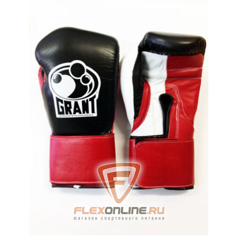 Боксерские перчатки Перчатки боксерские тренировочные на липучке от Grant