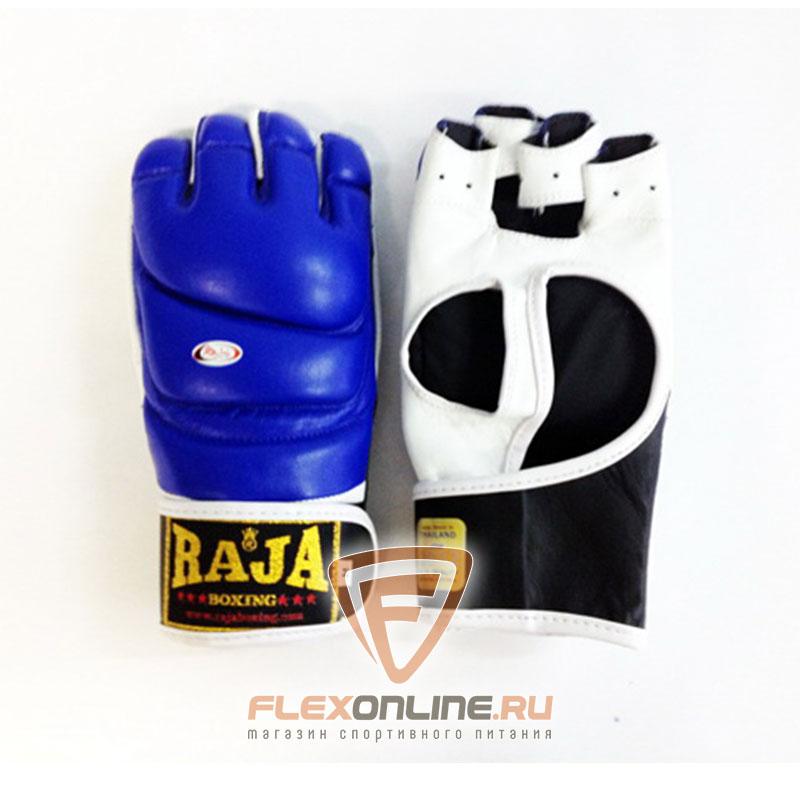 Перчатки MMA Перчатки MMA на липучке M синие от Raja