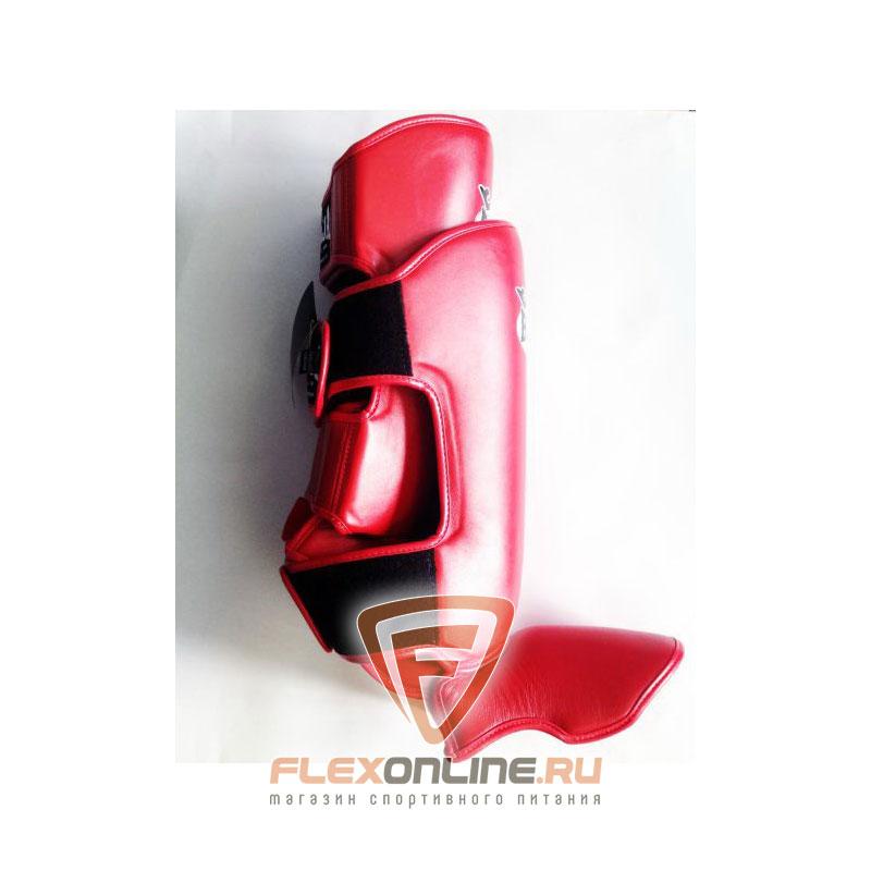 Защита тела Защита голени L красная от Raja