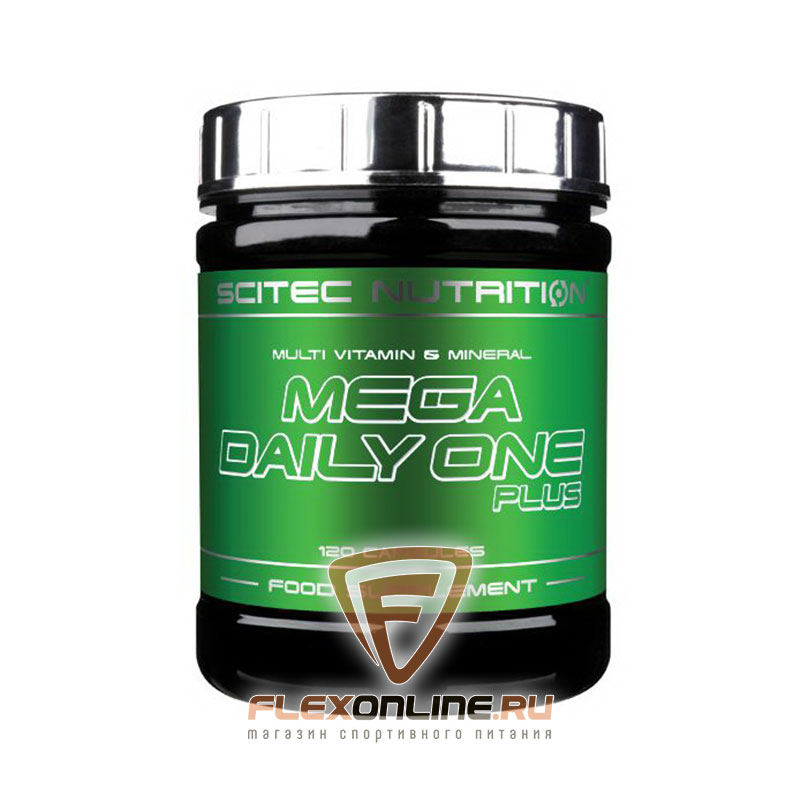 Витамины Mega daily one plus от Scitec