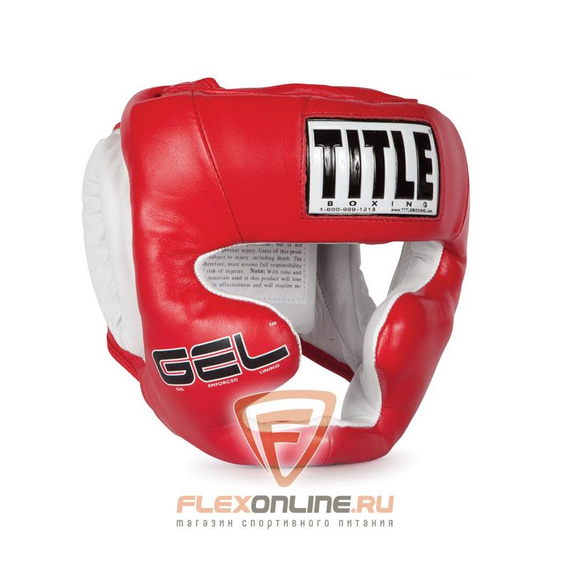 Шлемы Боксерский шлем тренировочный L красный от Title