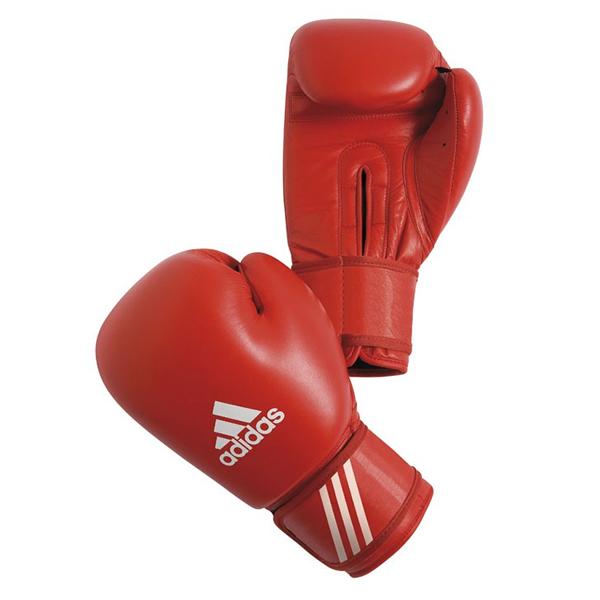 Боксерские перчатки Перчатки боксерские Сertifited 10 унций красные от Adidas