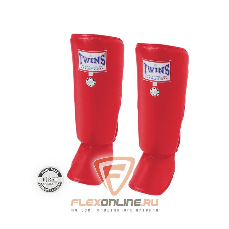 Защита тела Защита голени L красная от Twins