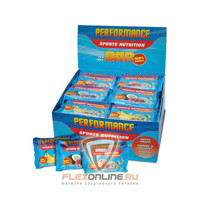 Шоколадки Performance Bar от Performance