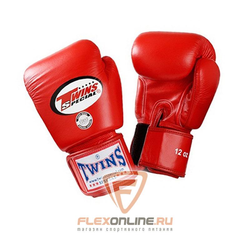 Боксерские перчатки Перчатки боксерские тренировочные 8 унций красные от Twins