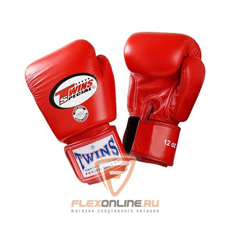 Боксерские перчатки Перчатки боксерские тренировочные 12 унций красные от Twins