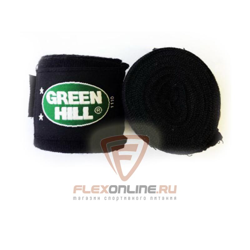 Бинты Бинт боксерский 2,5 метра чёрный от Green Hill