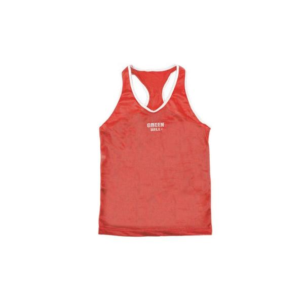 Одежда Майка боксёрская CLUB красная от Green Hill