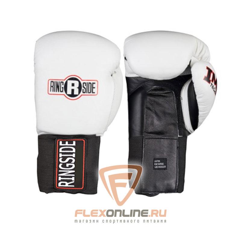 Боксерские перчатки Боксерские перчатки тренировочные 18 унций белые от Ringside