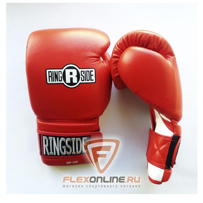 Боксерские перчатки Боксерские перчатки тренировочные 14 унций красно-белые от Ringside