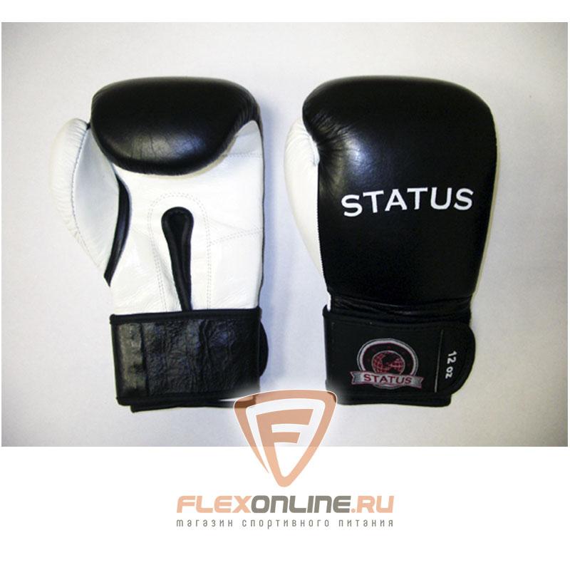 Боксерские перчатки Боксерские перчатки тренировочные на липучке 16 унций от Status