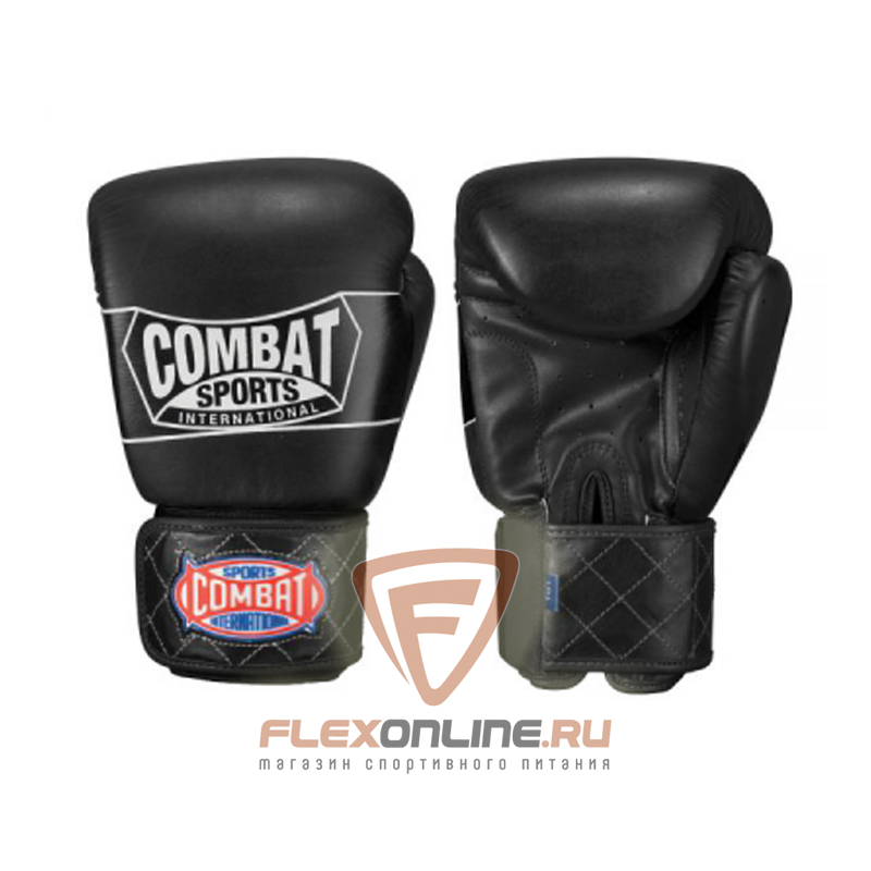 Боксерские перчатки Перчатки боксерские тренировочные на липучке 14 унций от Combat Sports