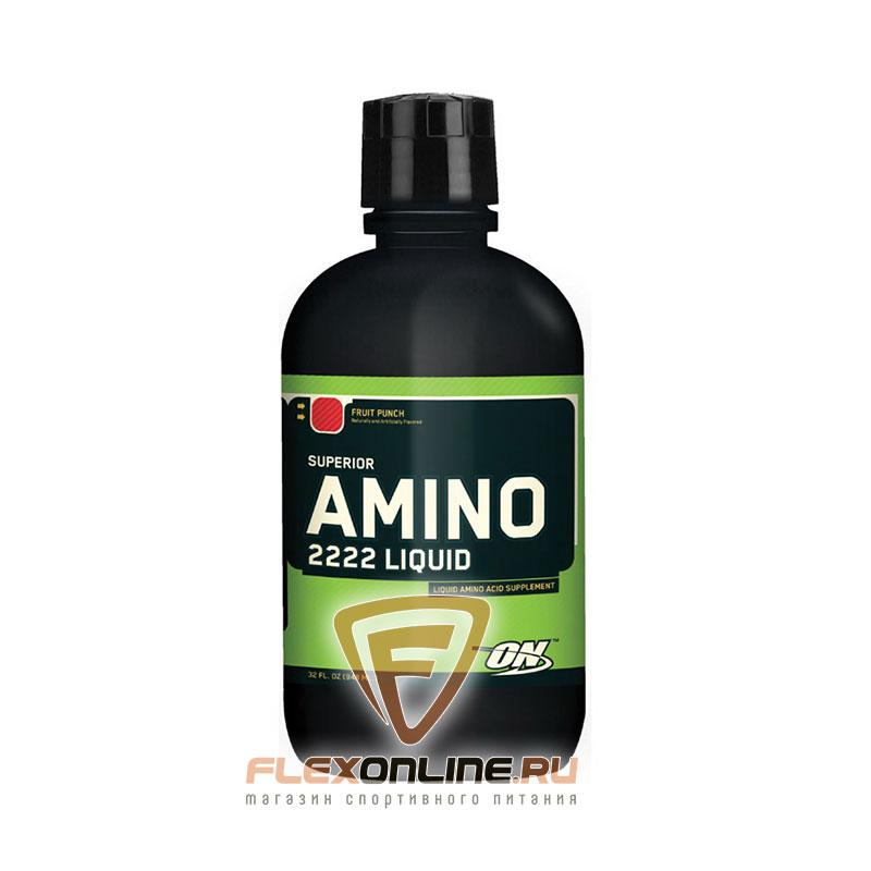 Аминокислоты Amino 2222 Liquid от Optimum Nutrition