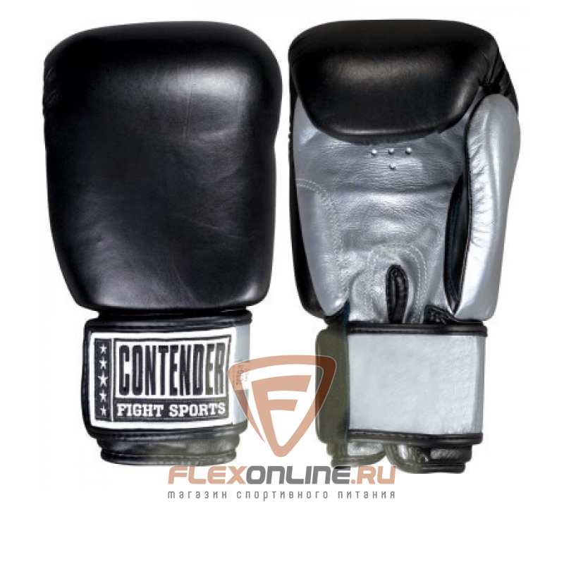 Боксерские перчатки Перчатки боксерские тренировочные на липучке 14 унций от Contender