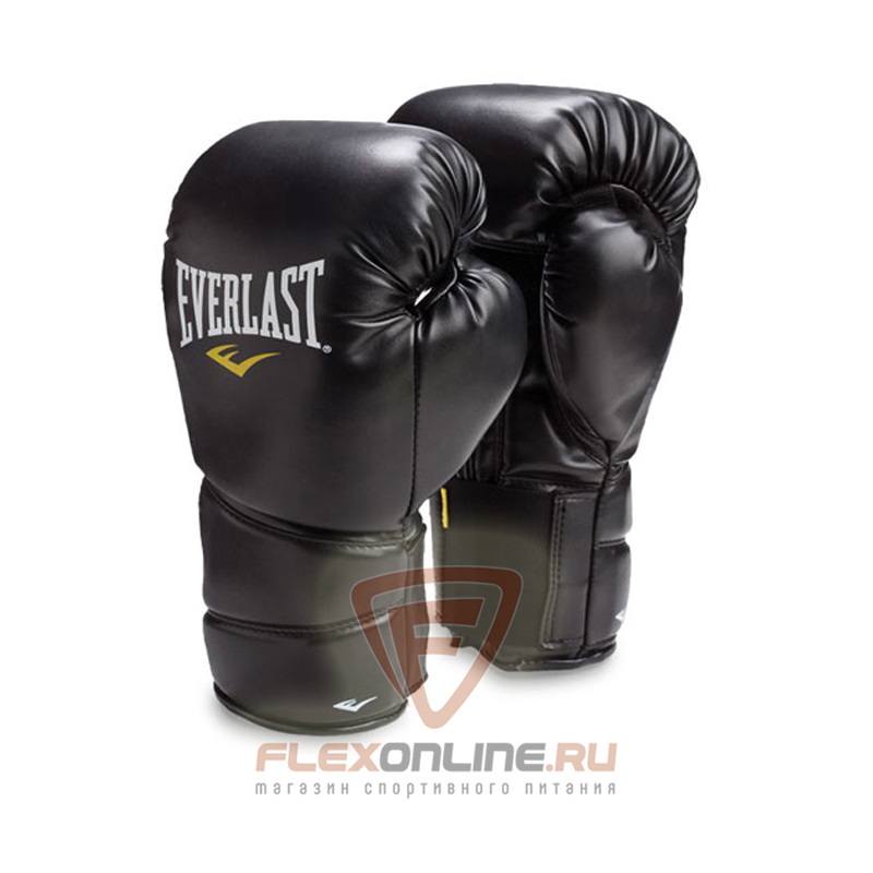Боксерские перчатки Перчатки боксерские тренировочные Protex2 Gel 10 унций S/M от Everlast