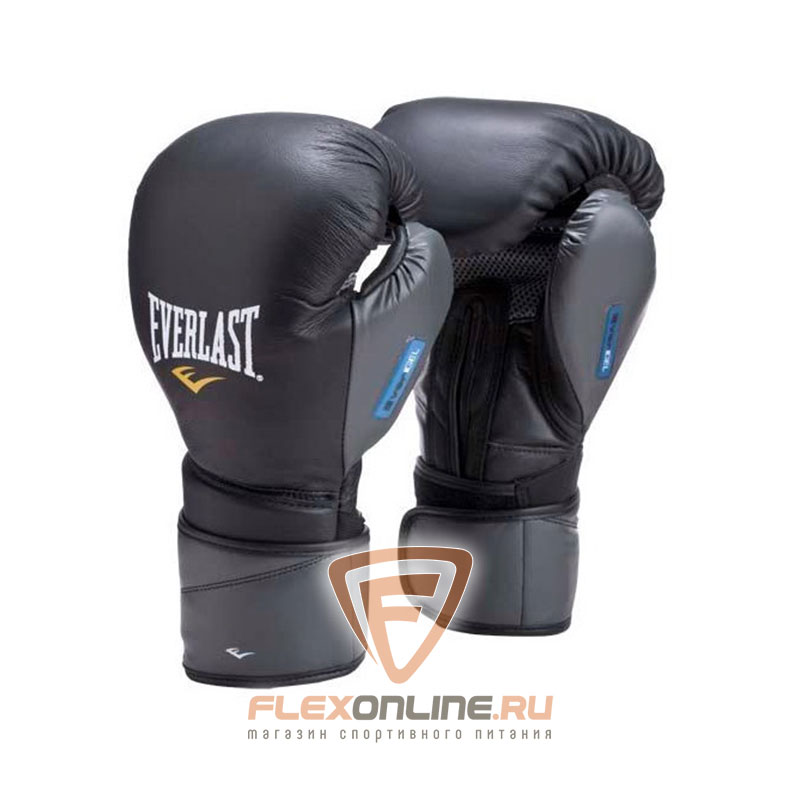 Боксерские перчатки Перчатки боксерские тренировочные Protex2 Gel 12 унций S/M от Everlast
