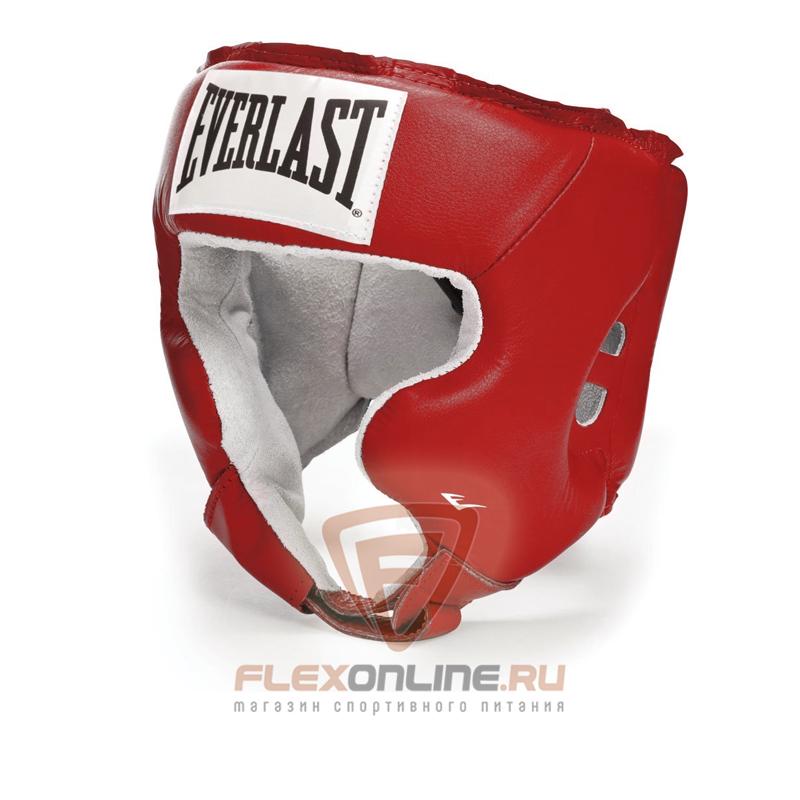 Шлемы Боксерский шлем тренировочный USA Boxing Cheek S красный от Everlast