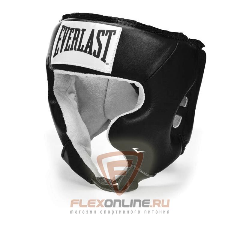 Шлемы Боксерский шлем тренировочный USA Boxing Cheek L чёрный от Everlast