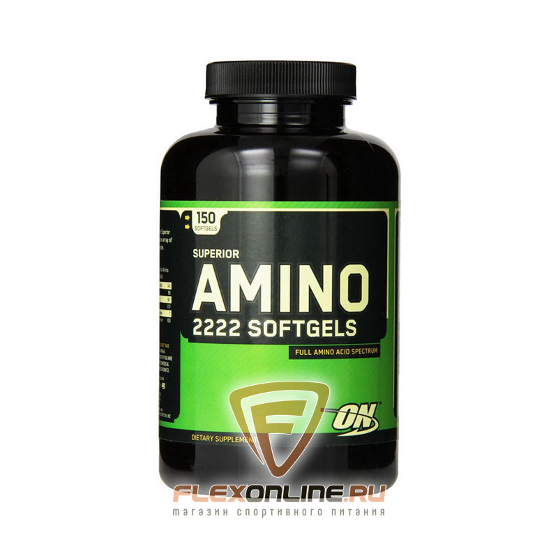 Аминокислоты Superior Amino 2222 Softgels от Optimum Nutrition
