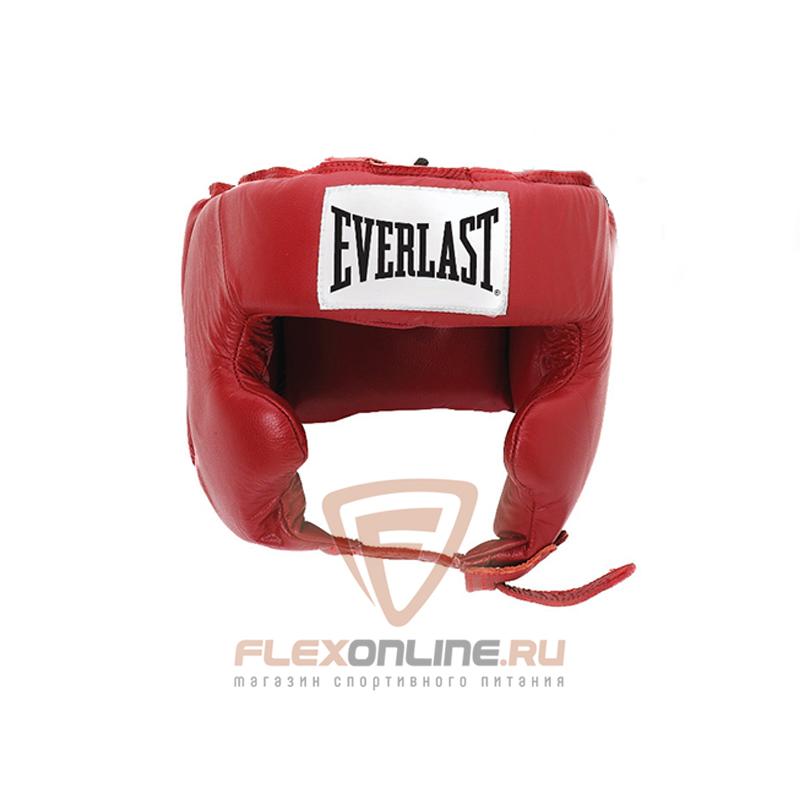 Шлемы Боксерский шлем тренировочный Pro Traditional M красный от Everlast