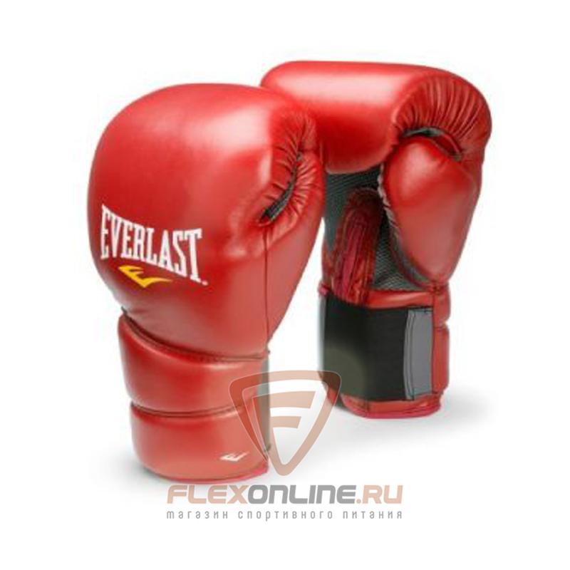 Боксерские перчатки Перчатки боксерские тренировочные Protex2 16 унций L/XL красные от Everlast