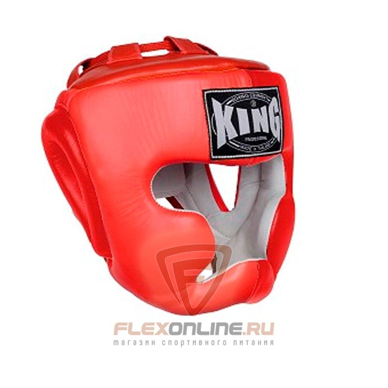 Шлемы Шлем тренировочный L красный от King