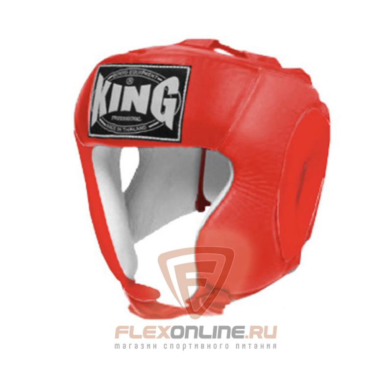 Шлемы Шлем тренировочный XL красный от King