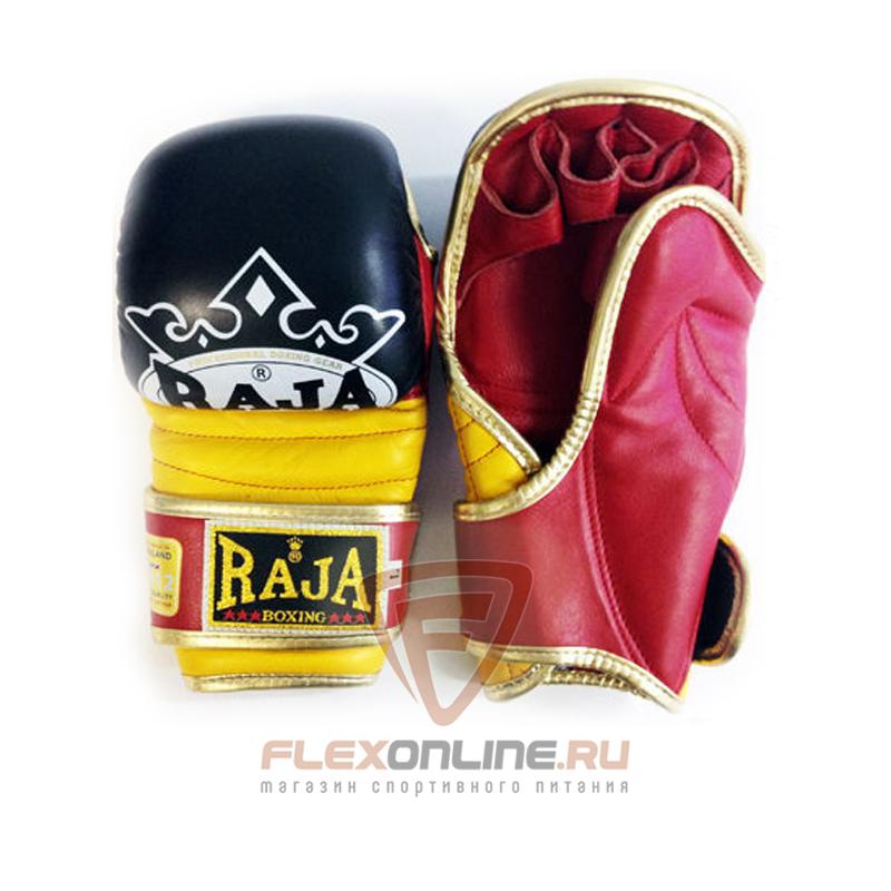 Перчатки MMA Перчатки MMA на липучке L чёрные от Raja