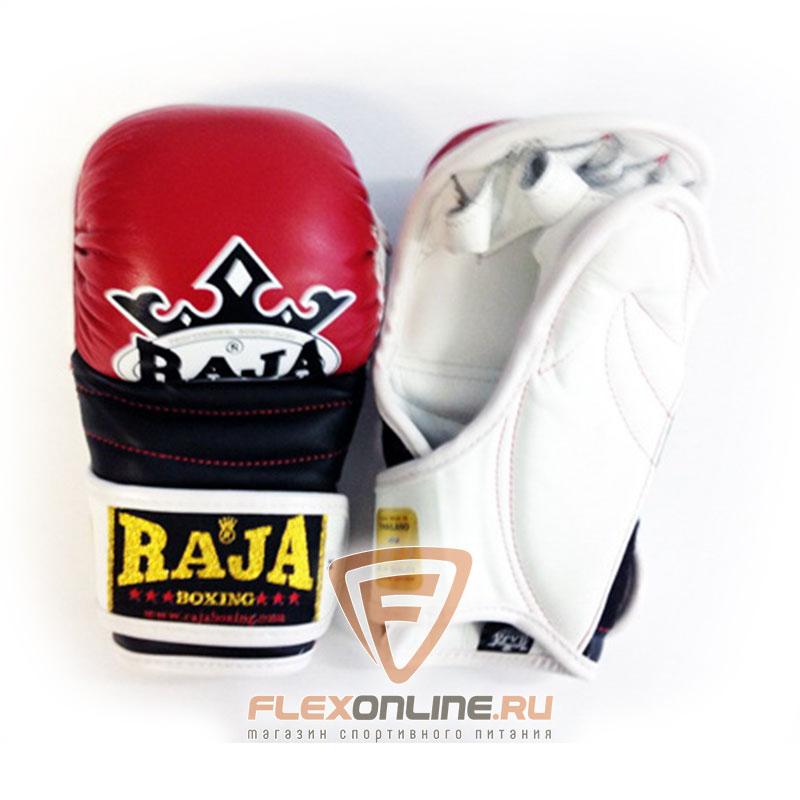 Перчатки MMA Перчатки MMA на липучке M красные от Raja