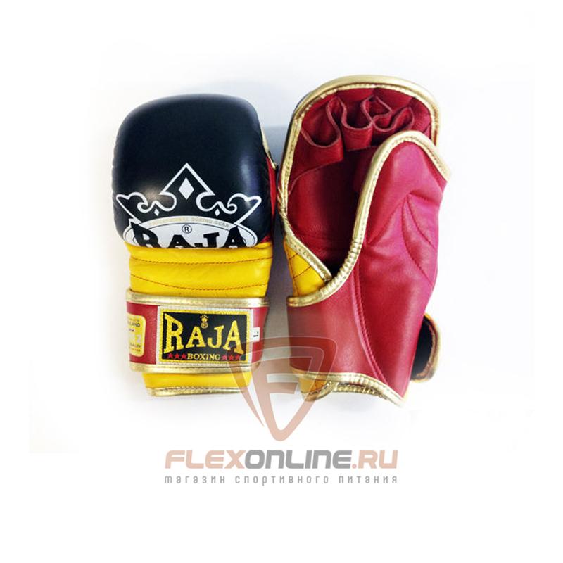 Перчатки MMA Перчатки MMA на липучке M чёрные от Raja